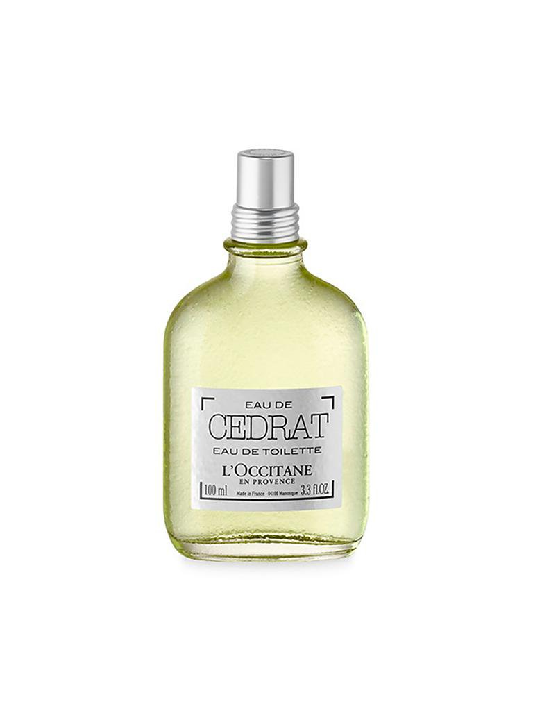 L'OCCITANE | Cédrat Eau de Toilette 100ml | transparent