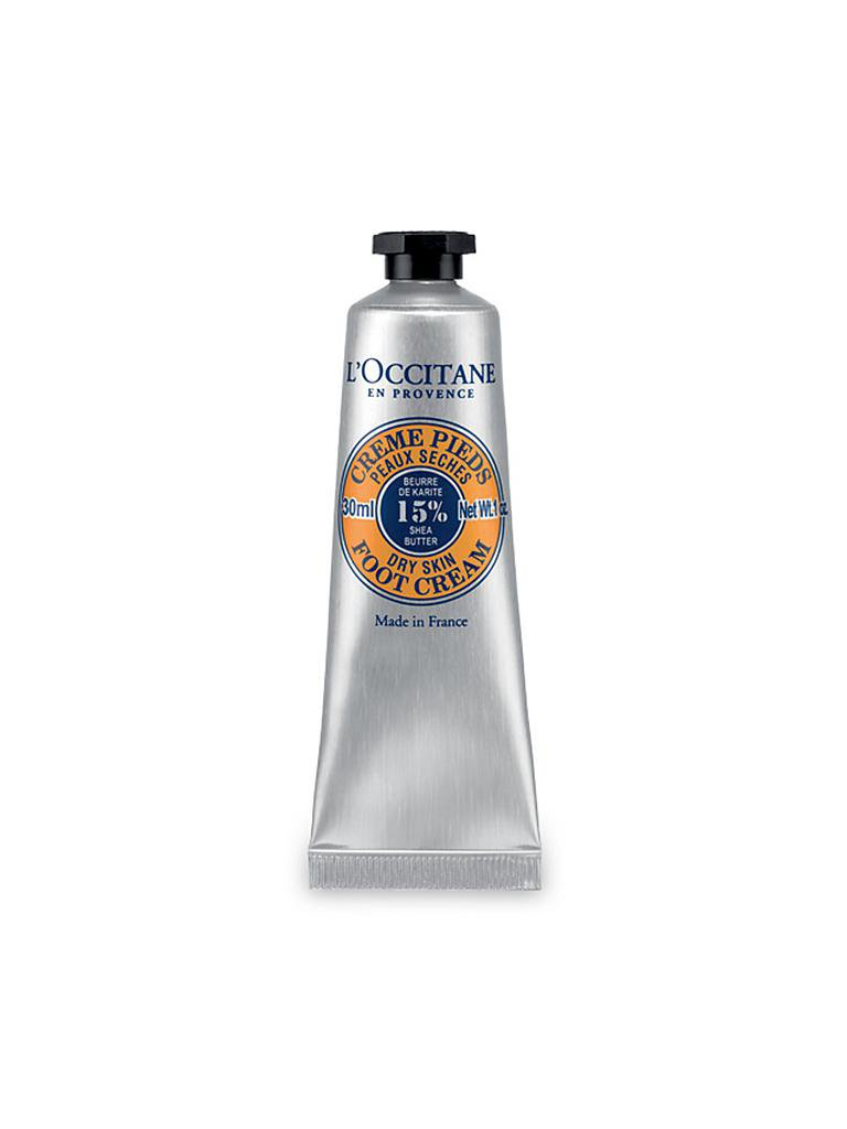 L'OCCITANE | Sheabutter Fußcreme 30ml | transparent