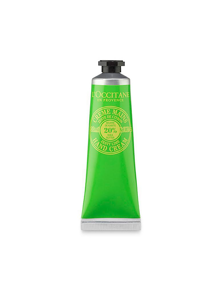 L'OCCITANE | Shea Limette Handcreme 30ml | transparent