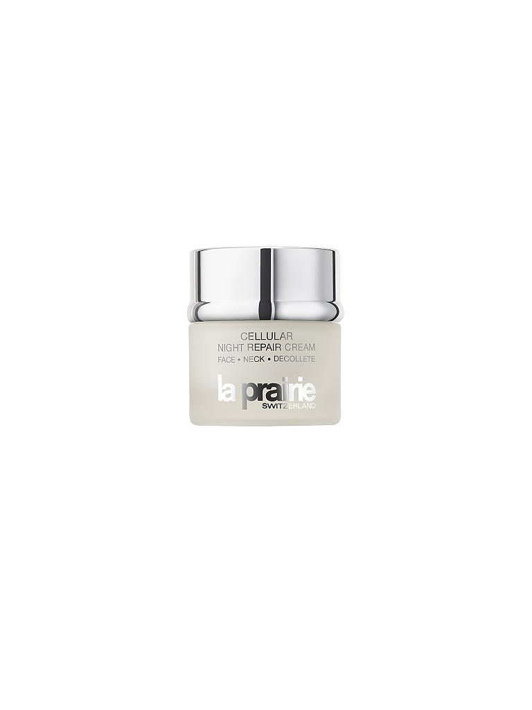 LA PRAIRIE | Gesichtscreme - Cellular Night Repair Cream Face & Neck & Decollete 50ml | transparent