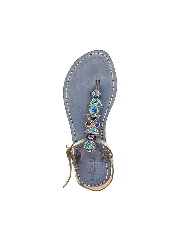 laidbacklondon schuhe sandalen blau 38. Black Bedroom Furniture Sets. Home Design Ideas