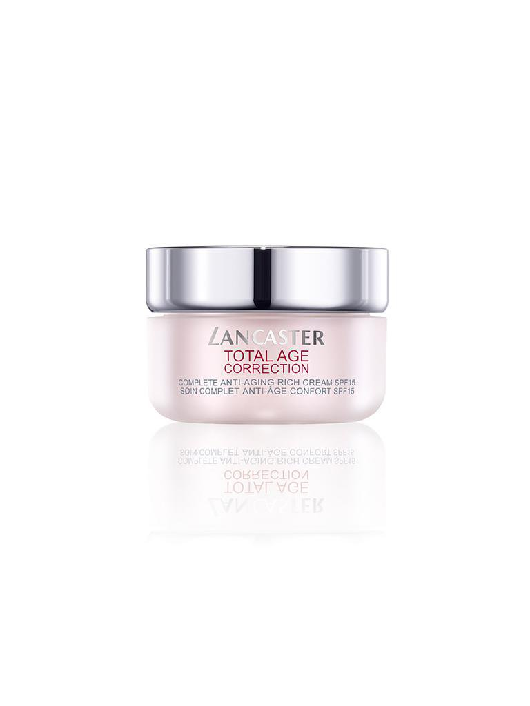 LANCASTER | Total Age Correction - Rich Day Cream SPF15 50ml | transparent