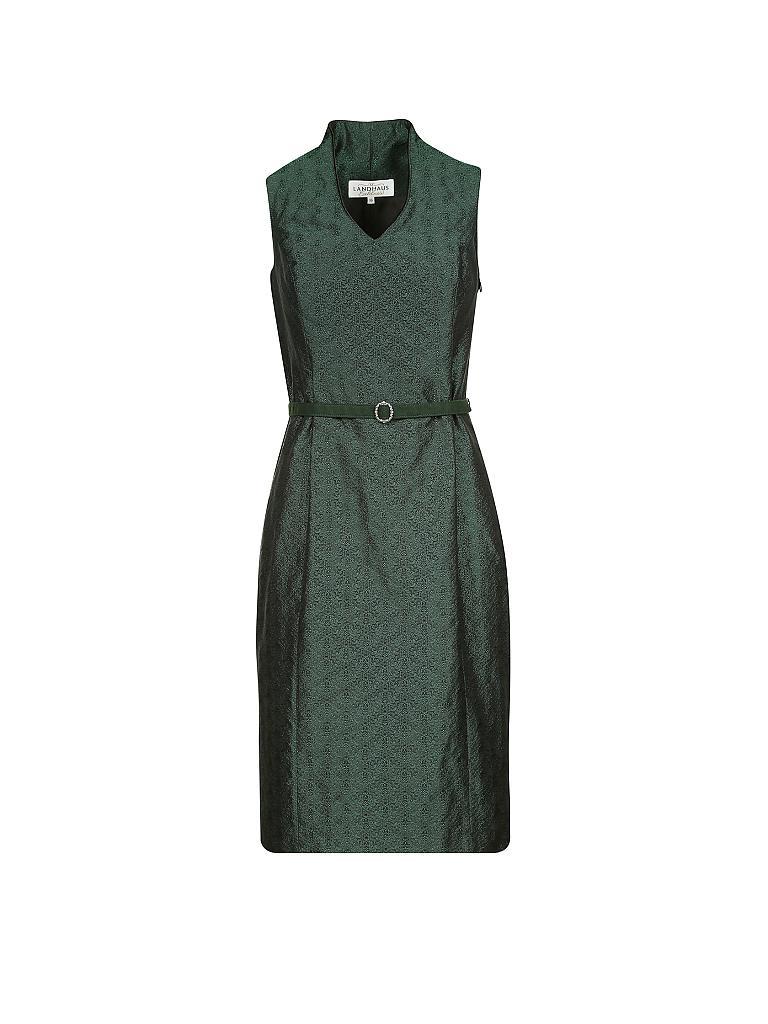 38 von Landhaus Damen Trachten Kleid schwarz grün  Gr