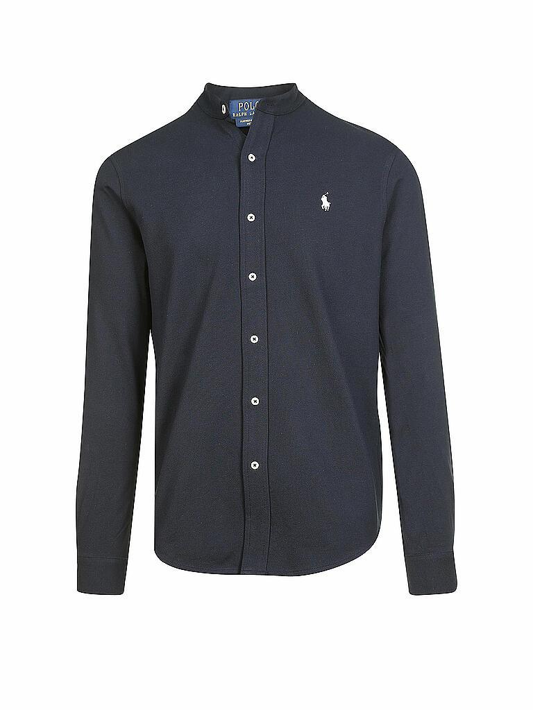 8883d01e90c5db LAUREN RALPH LAUREN Hemd Modern-Fit blau