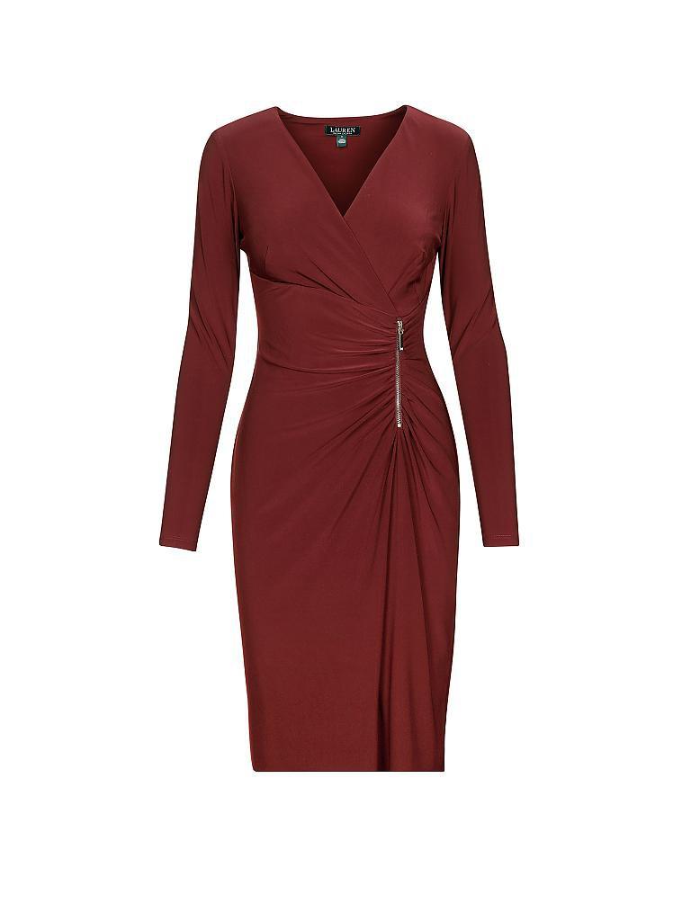 Lauren Ralph Lauren Kleid Ziembli Rot 34