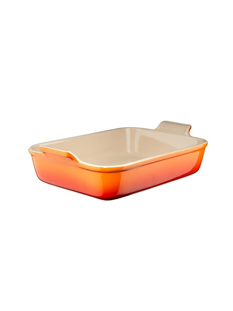 LE CREUSET | Auflaufform Tradition 26x17cm (Ofenrot) | orange