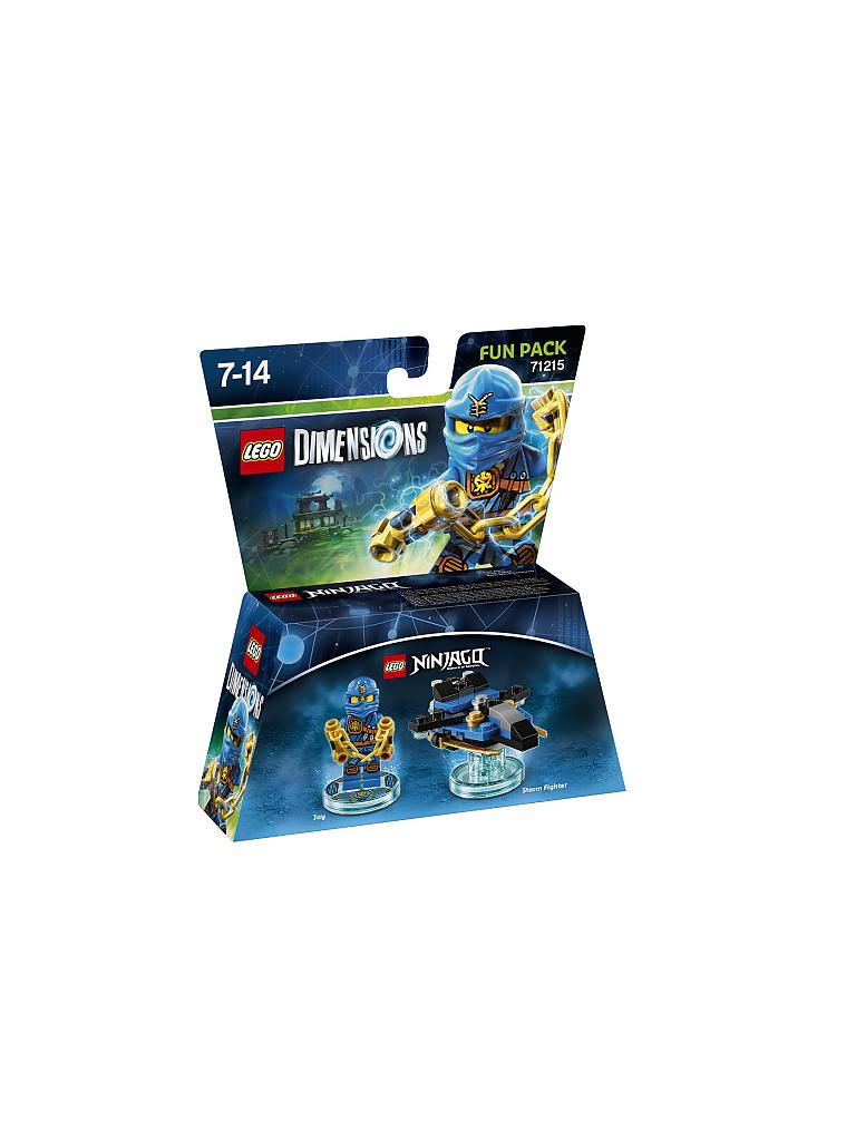 LEGO DIMENSIONS | Fun Pack - Ninjago Jay | transparent