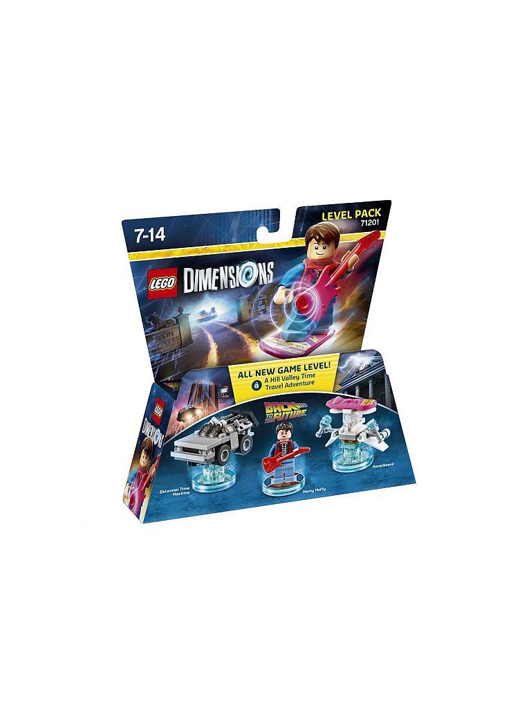 Lego Dimensions Level Pack Zurück In Die Zukunft Transparent