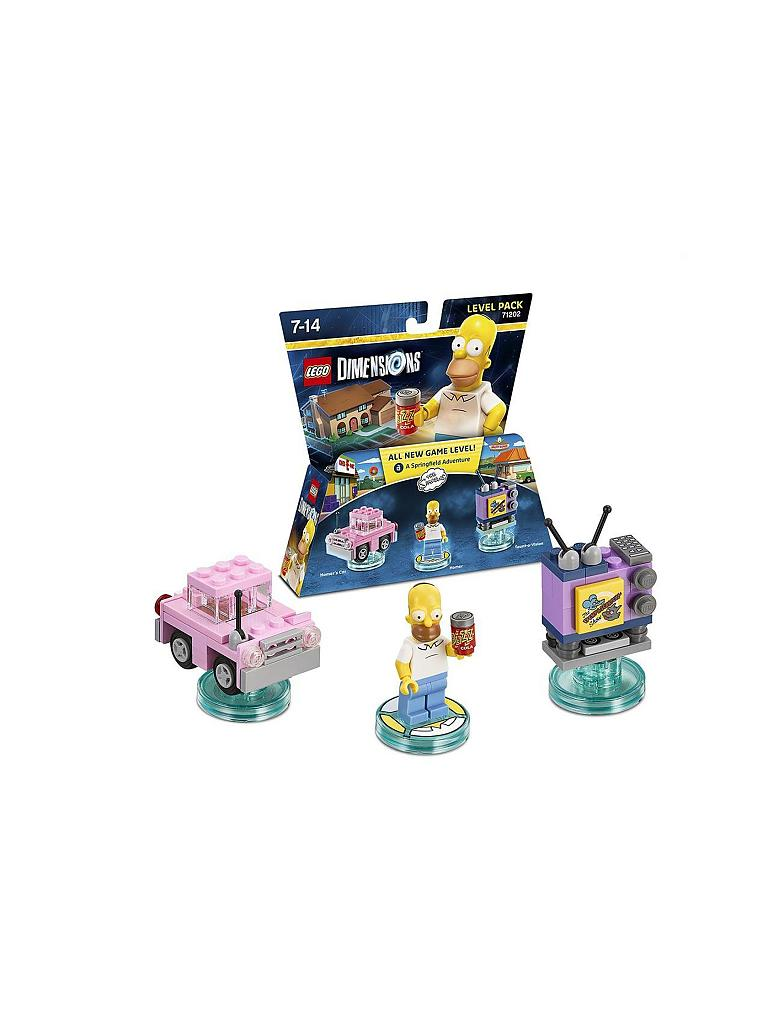 LEGO DIMENSIONS | Level Pack - Simpsons | transparent