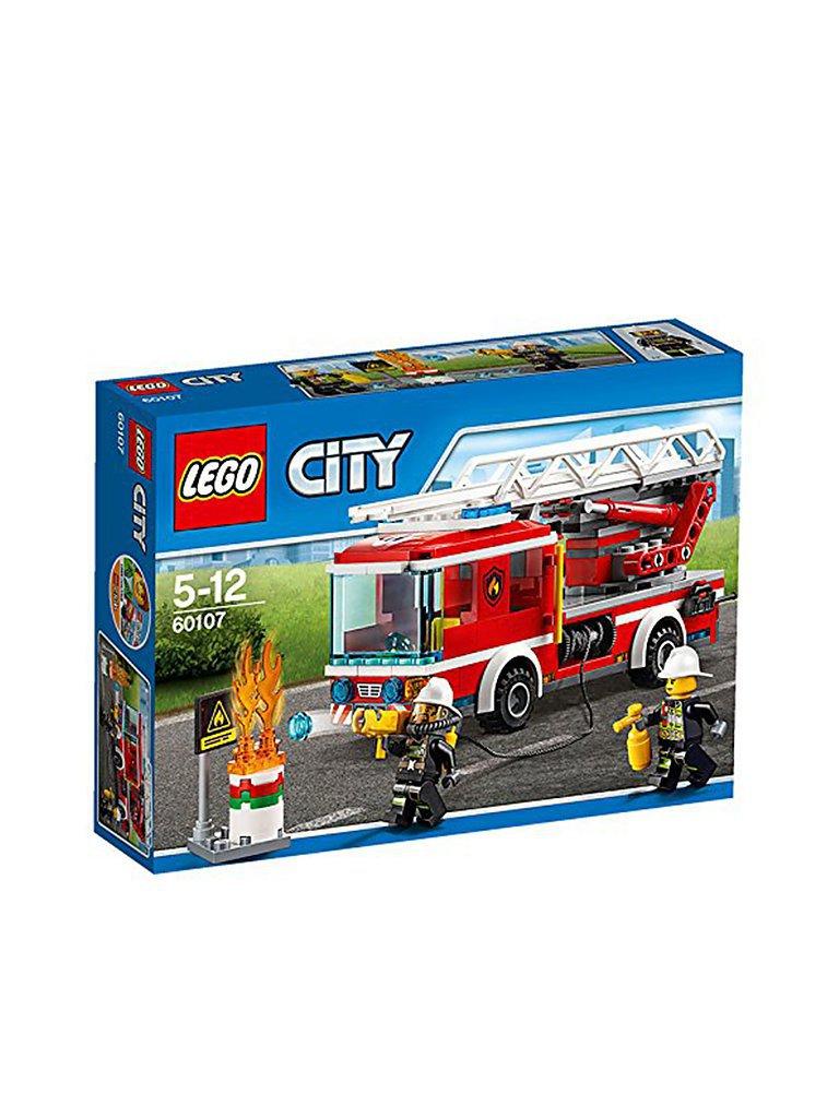 LEGO CITY - Feuerwehr Fahrezeug mit fahrbarer Leiter 60107