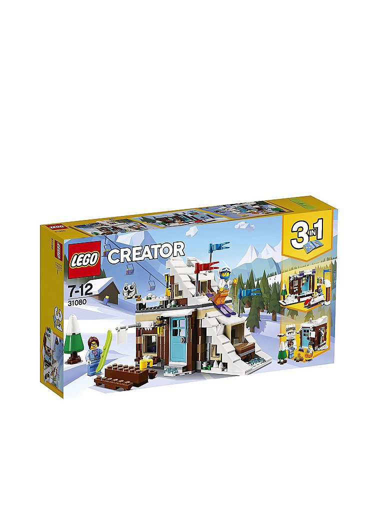 LEGO Creator - Modulares Wintersportparadies 31080