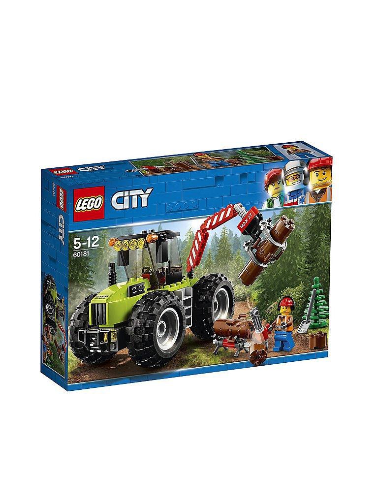 LEGO City - Starke Fahrzeuge Forsttraktor 60181