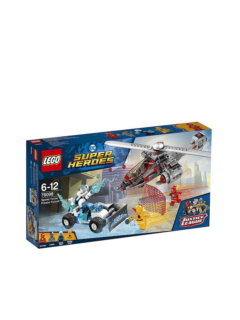 LEGO DC Super Heroes Speed Force Freeze - Verfolgungsjagd 76098