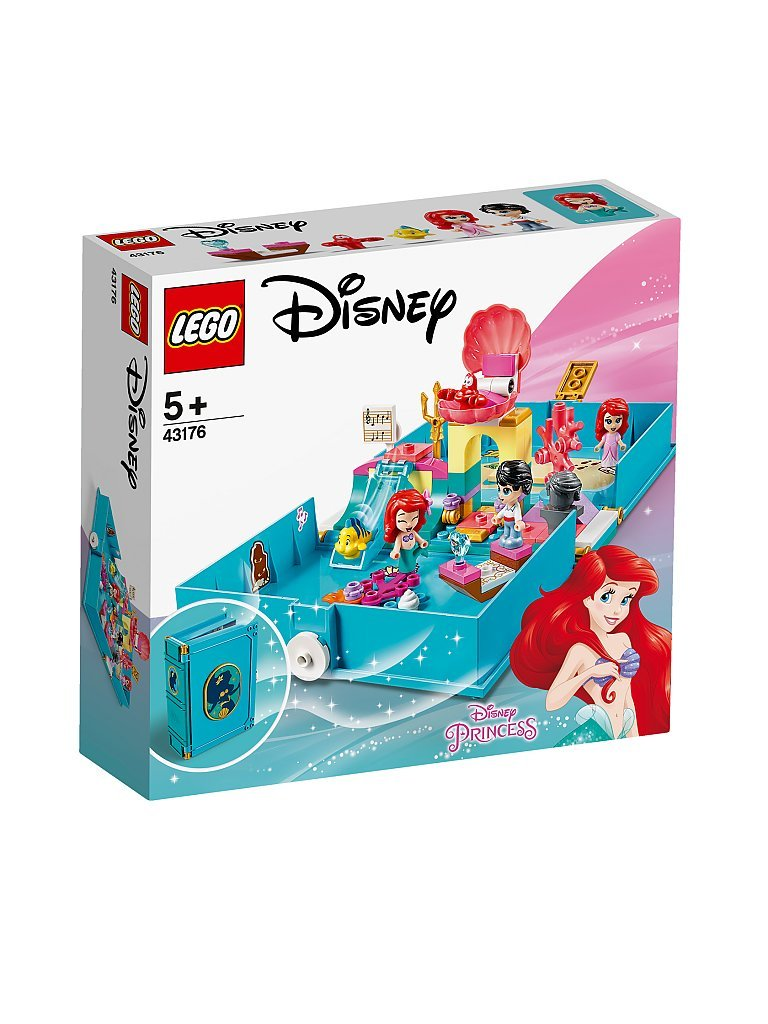 lego disney princess™ - arielles märchenbuch 43176