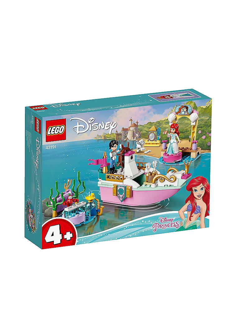 lego disney princess -  arielles festtagsboot 43191