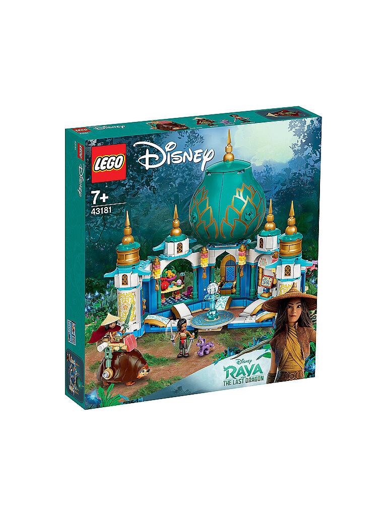 lego disney princess™ - raya und der letzte drache - raya und der herzpalast 43181