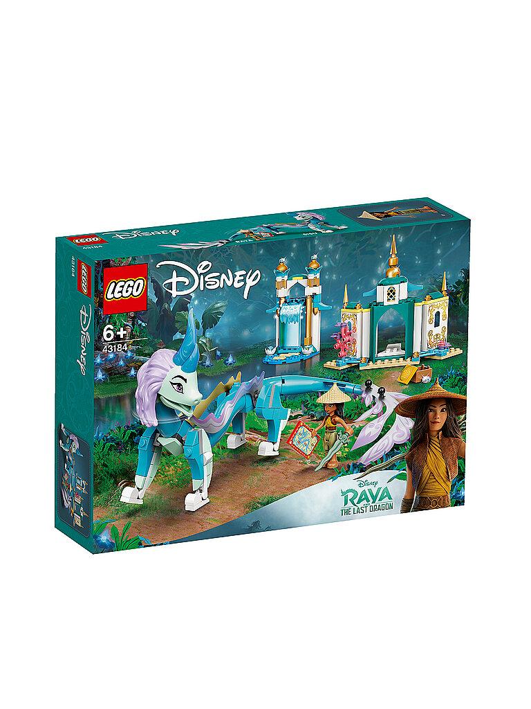 lego disney princess™ - raya und der letzte drache - raya und der sisu drache 43184