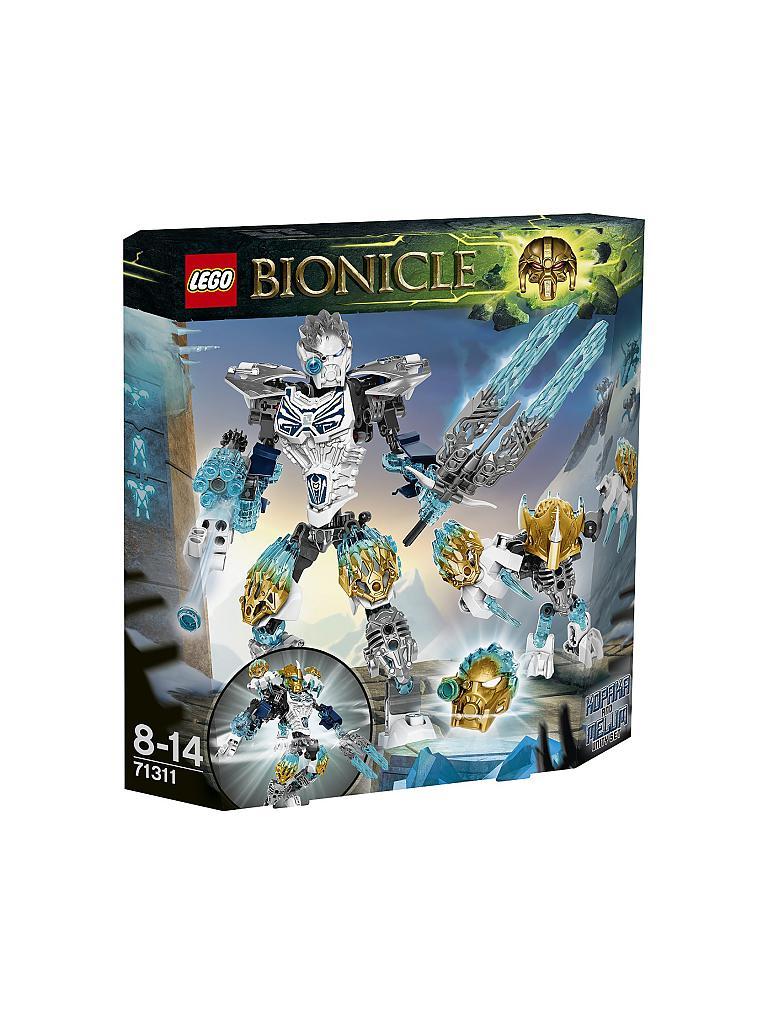 NEU NEW! Kopaka und Melum LEGO Bionicles 71311