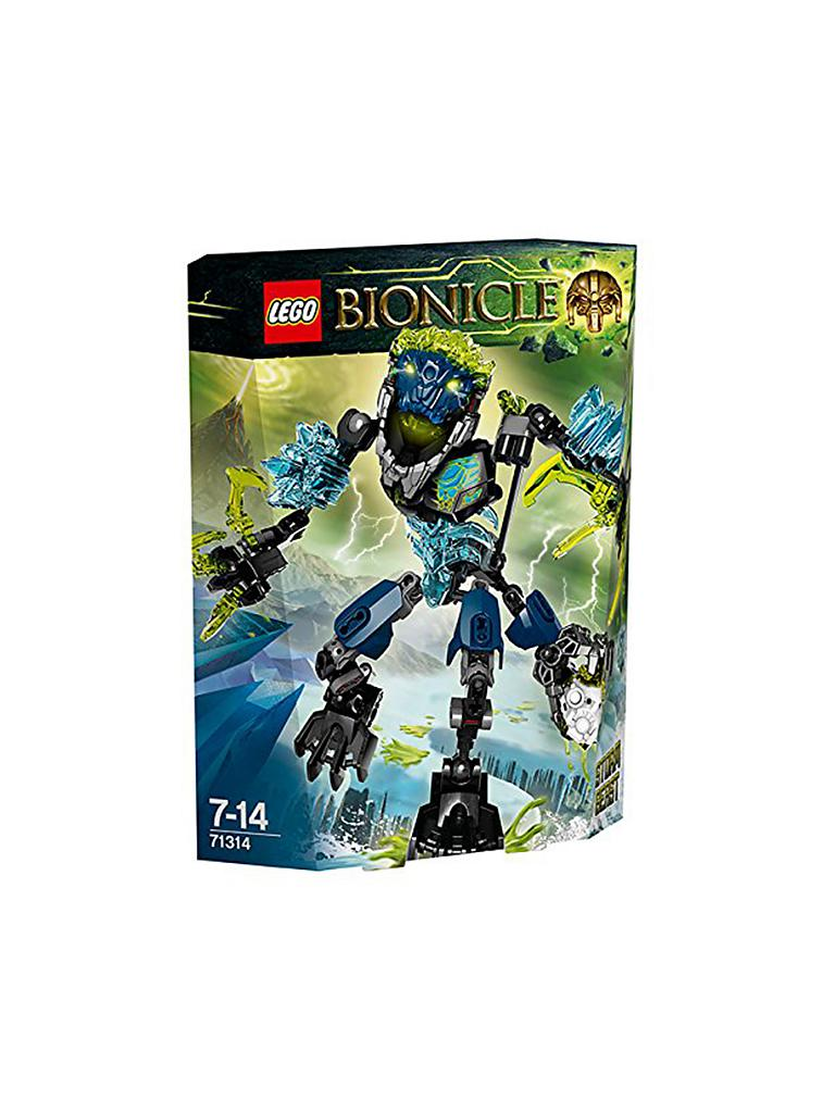 LEGO | Adventure - Bionicle - Sturm-Ungeheuer | transparent