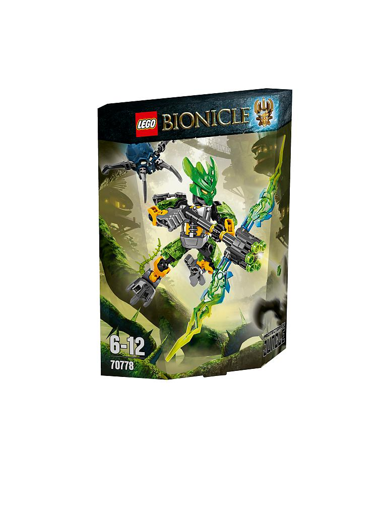 LEGO | ADVENTURE - Bionicle-Hüter des Dschungels | transparent