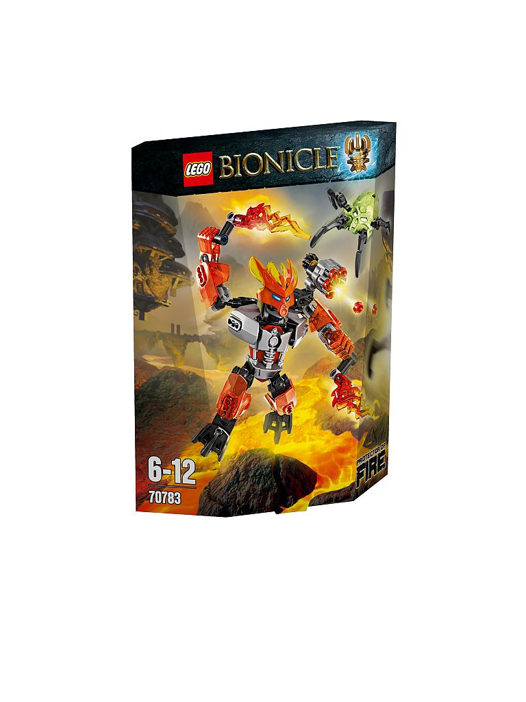 LEGO | ADVENTURE - Bionicle-Hüter des Feuers | transparent