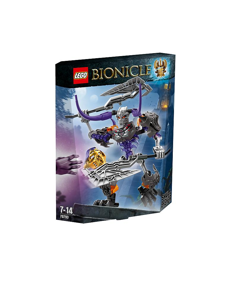 LEGO | ADVENTURE - Bionicle-Totenkopf Stürmer | transparent