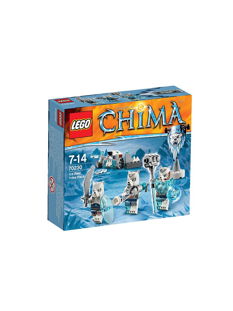 LEGO | ADVENTURE - Chima-Eisbärstamm Set | transparent