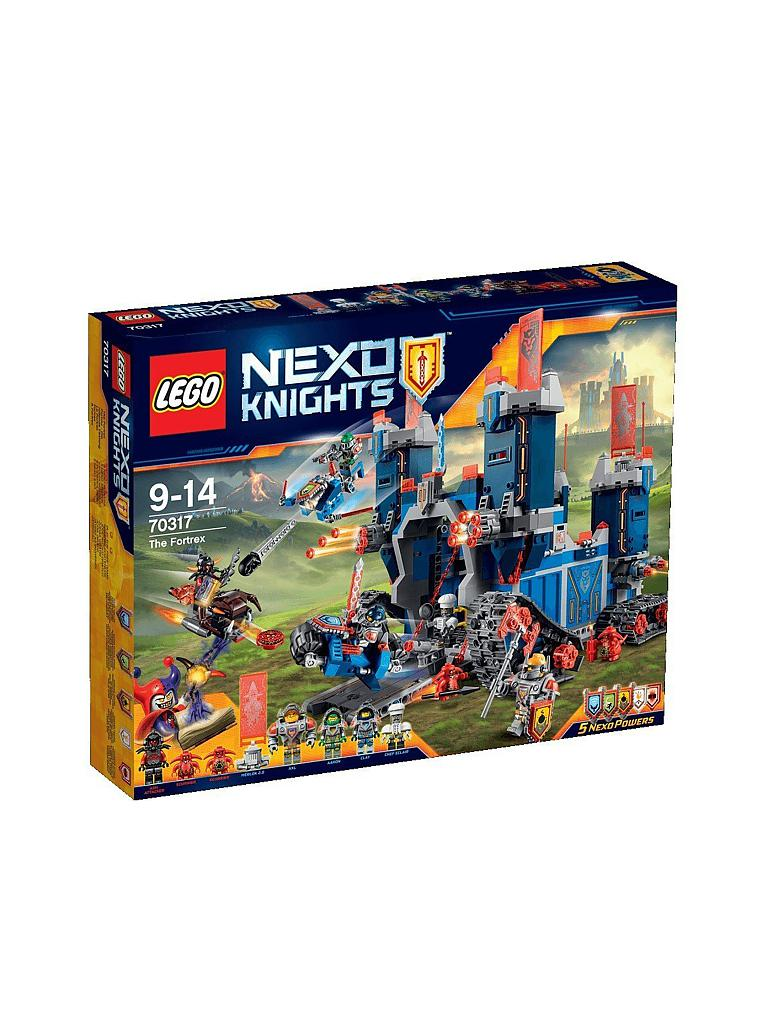 LEGO | ADVENTURE - Fortrex - Die rollende Festung - Nexo Nights | transparent