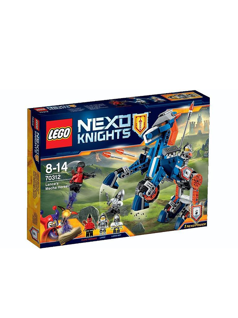 LEGO | ADVENTURE - Lance's Robo-Pferd - Nexo Knights | transparent