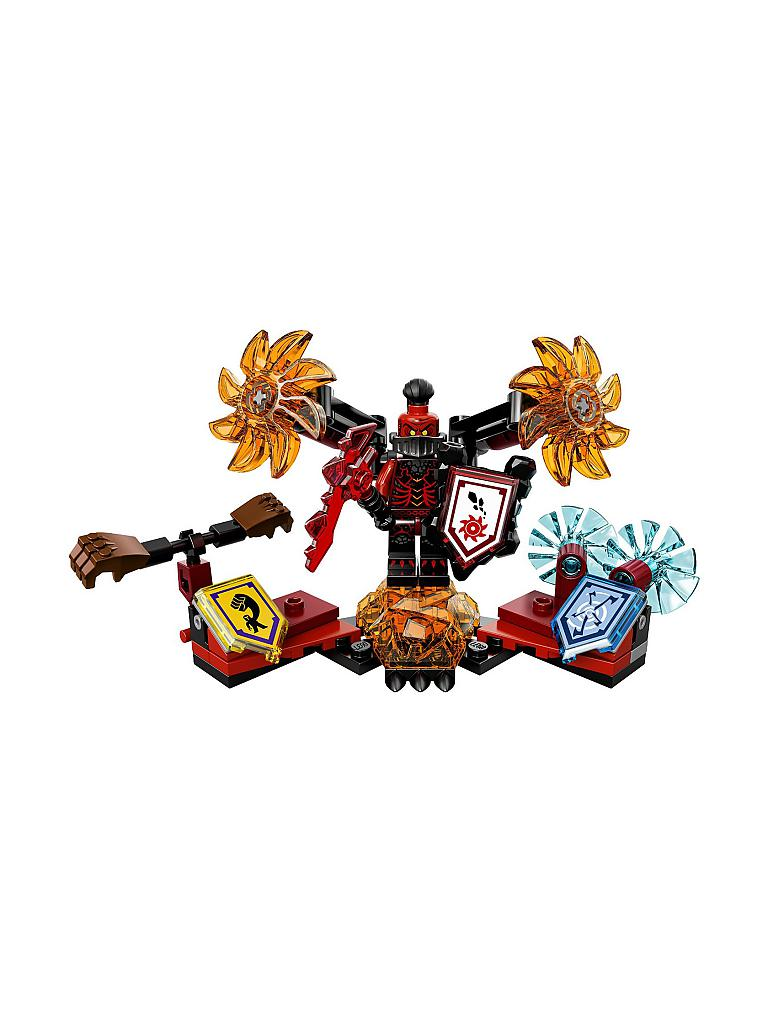 LEGO | Adventure - Nexo Knights - Ultimativer General Magmar | transparent