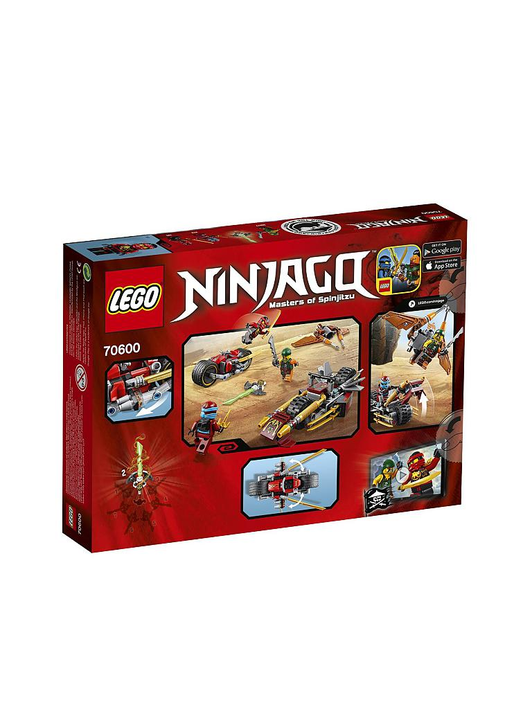 LEGO | ADVENTURE - Ninjago - Ninja Bike Jagd | transparent