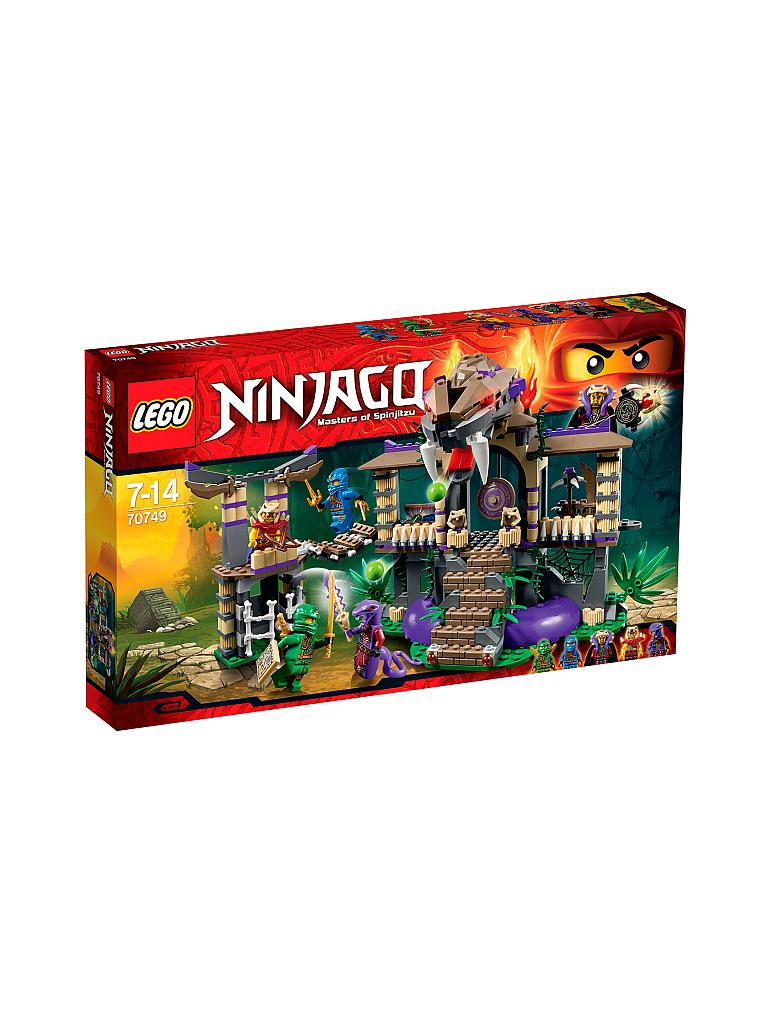LEGO | Adventure - Ninjago -Tempel der Anacondrai  | transparent