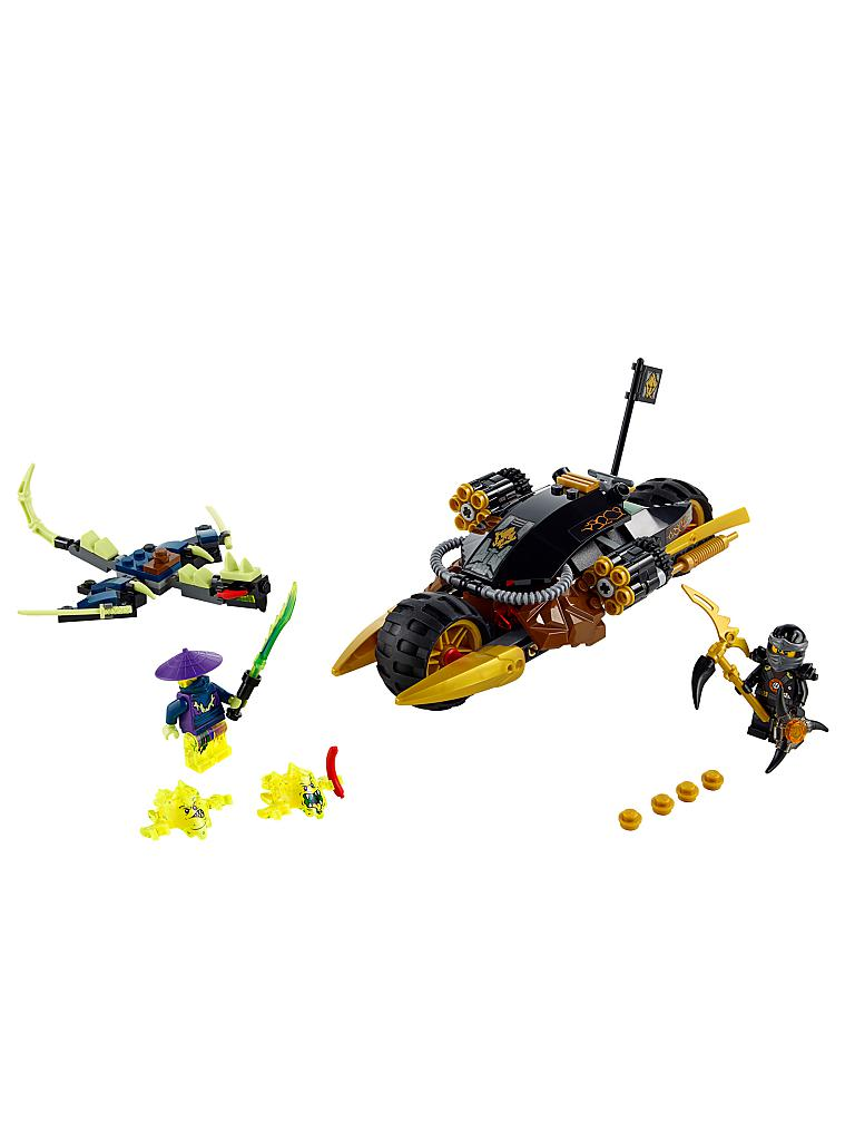 LEGO | ADVENTURE - Ninjago-Coles Donner Bike | transparent