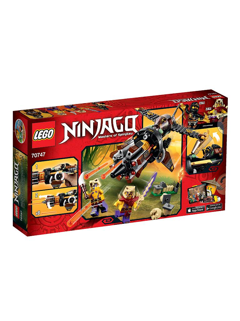 LEGO | ADVENTURE - Ninjago-Coles Felsenbrecher | transparent