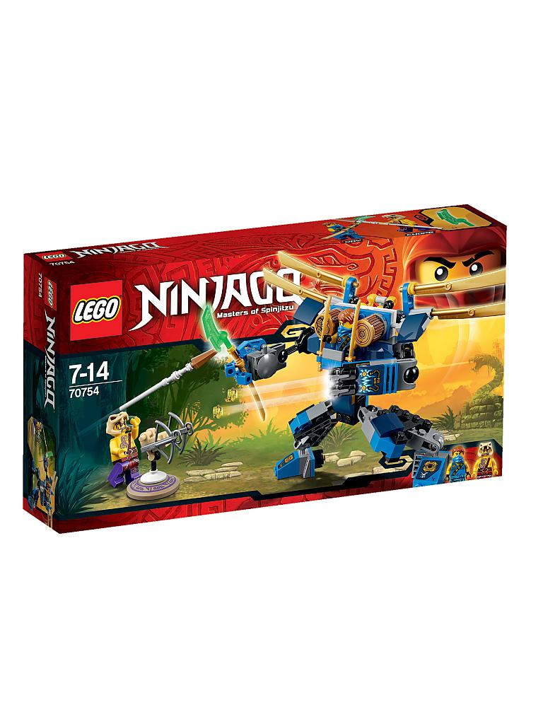 LEGO | ADVENTURE - Ninjago-Jays Elaktro Mech | transparent