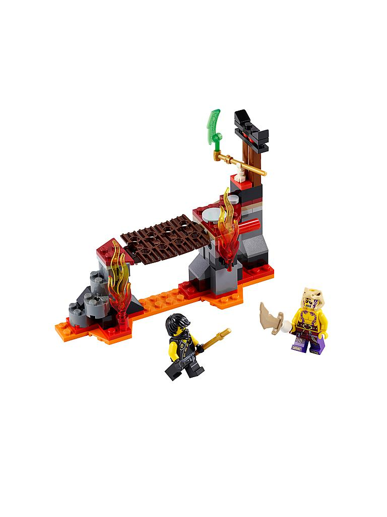 LEGO | ADVENTURE - Ninjago-Lava Fälle | transparent