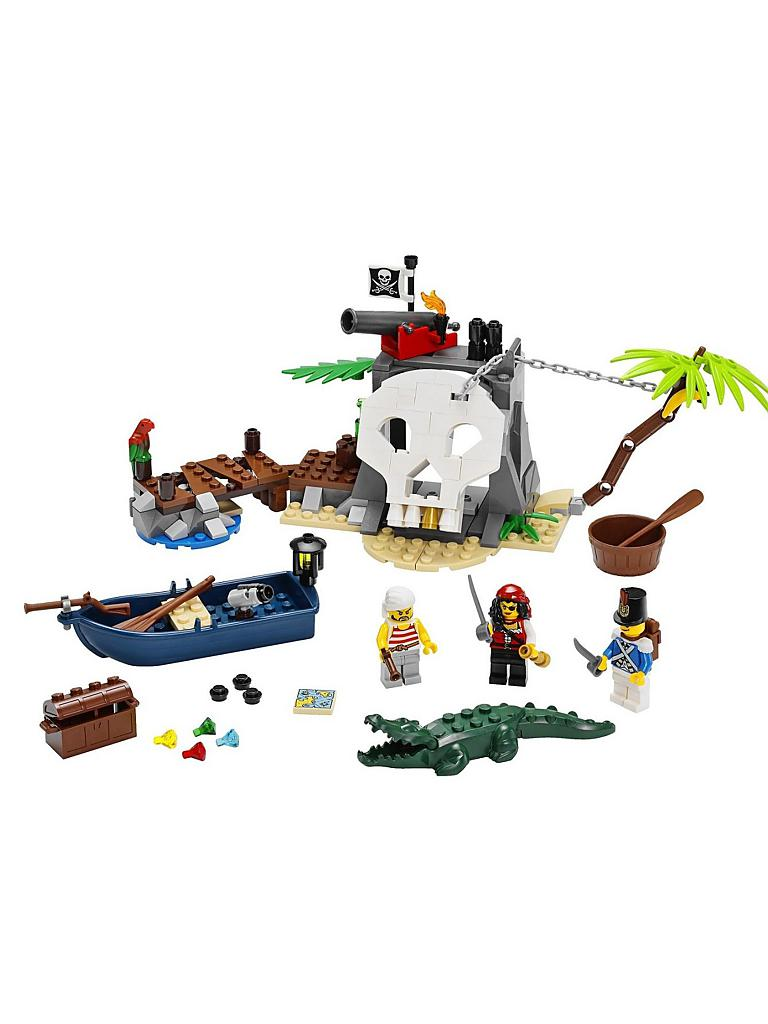 LEGO | ADVENTURE - Piraten-Schatzinsel | transparent