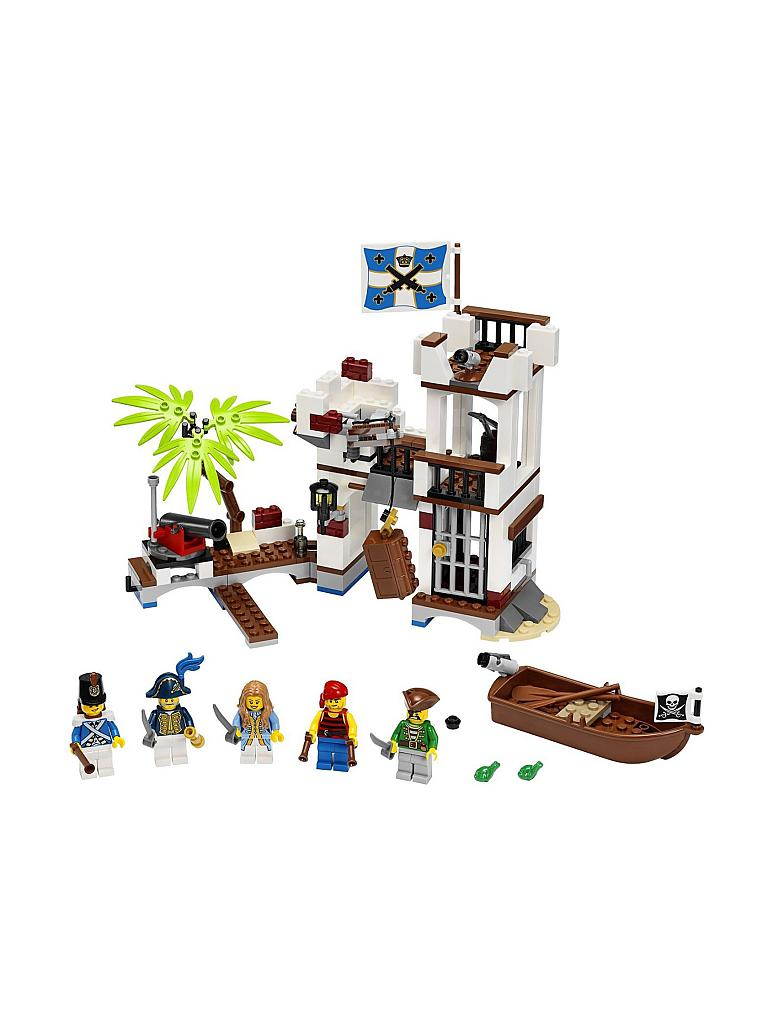 LEGO | ADVENTURE - Piraten-Soldaten Fort | transparent
