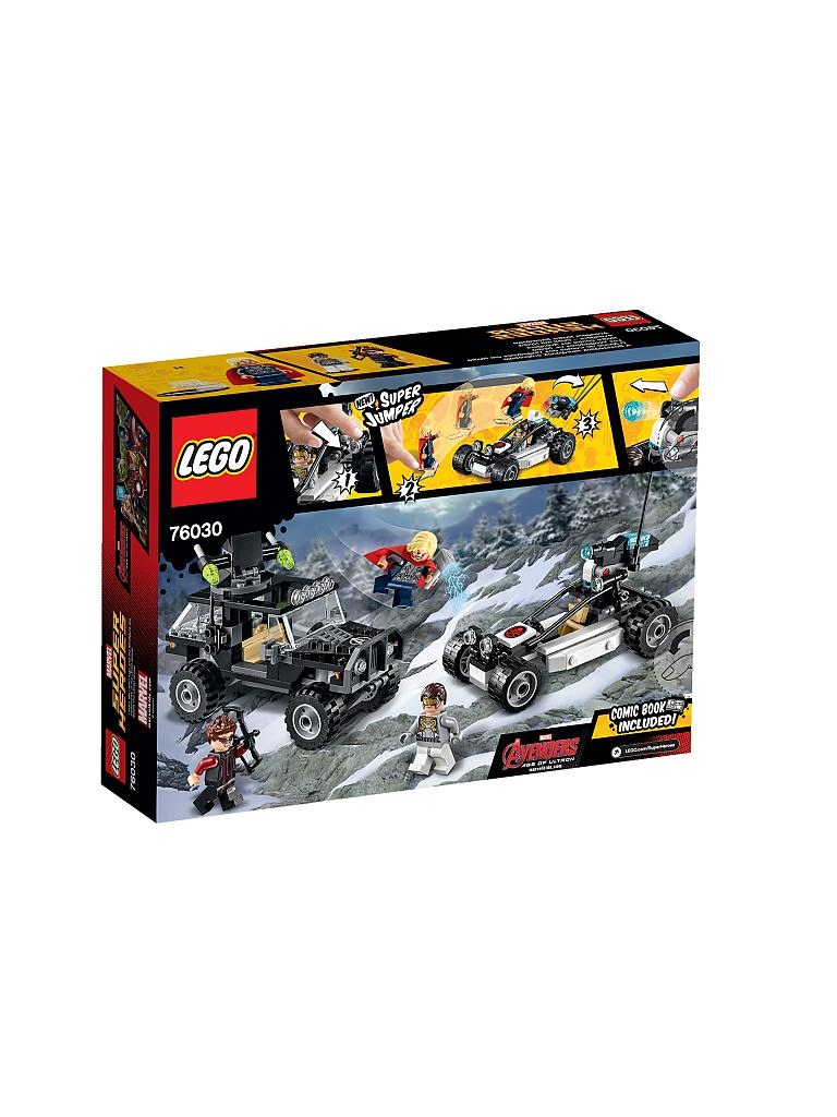 LEGO | ADVENTURE - Super Heroes - Avengers Hydra Showdown | transparent