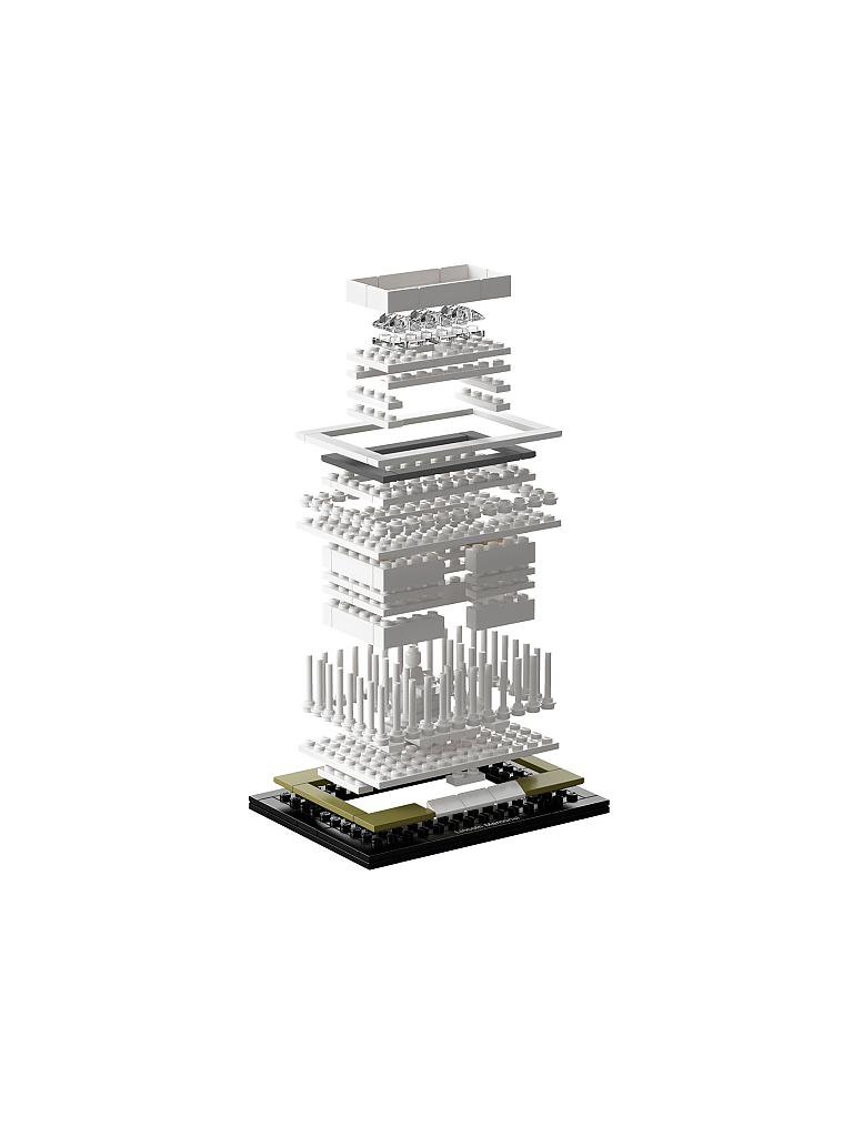 LEGO | ARCHITECTURE - Lincoln Memorial | transparent