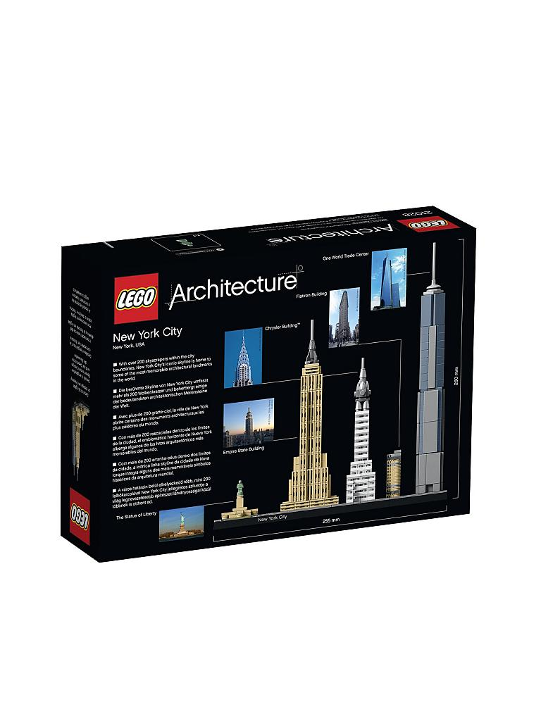 LEGO | ARCHITECTURE - New York City | transparent