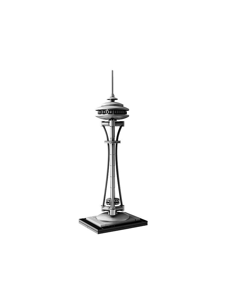 LEGO | ARCHITECTURE - Seattle Space Needle | transparent