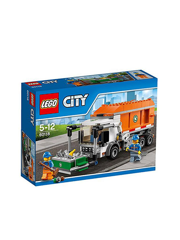 LEGO | CITY - Müllabfuhr | transparent