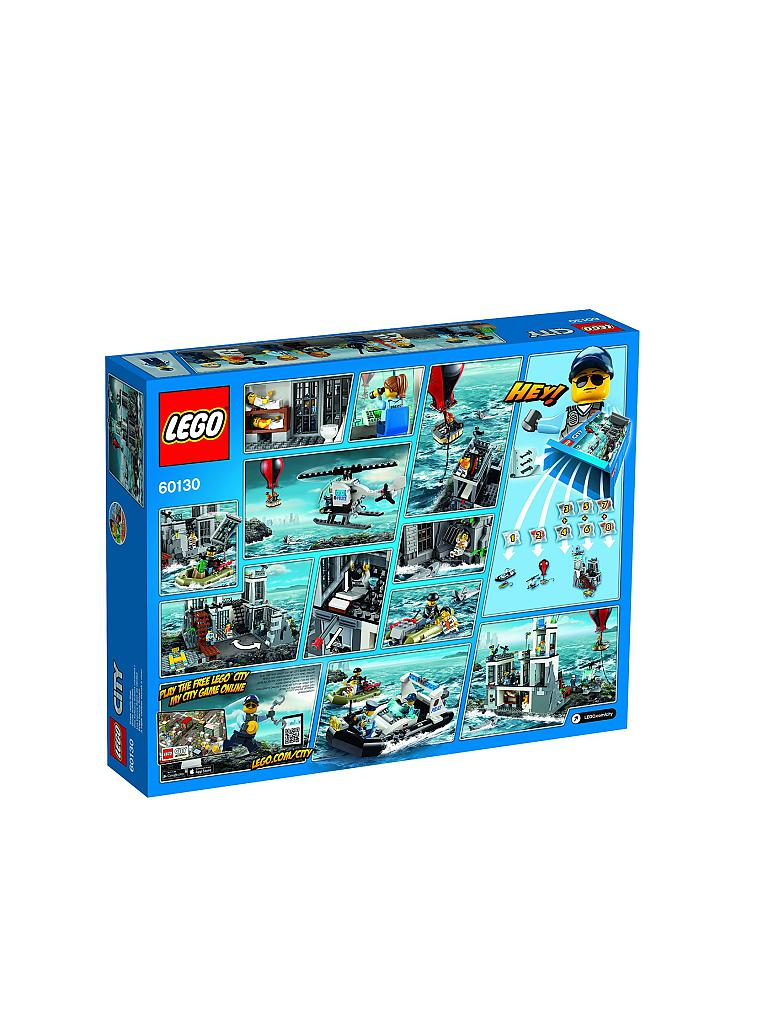 LEGO | CITY - Polizeiquartier aud der Gefängnisinsel | transparent