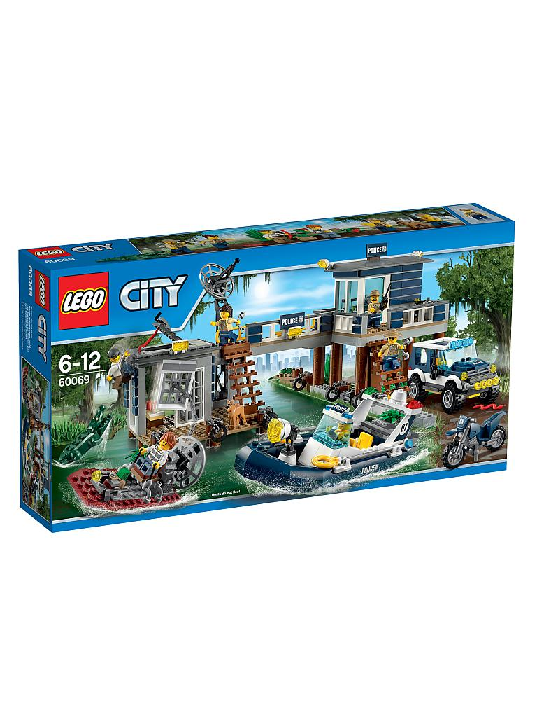 LEGO | CITY - Polizeiwache im Sumpf | transparent
