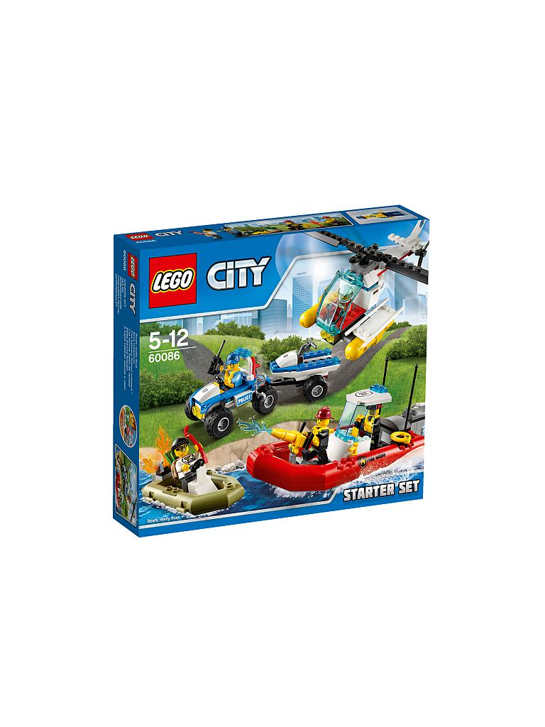LEGO | CITY - Starter-Set | transparent