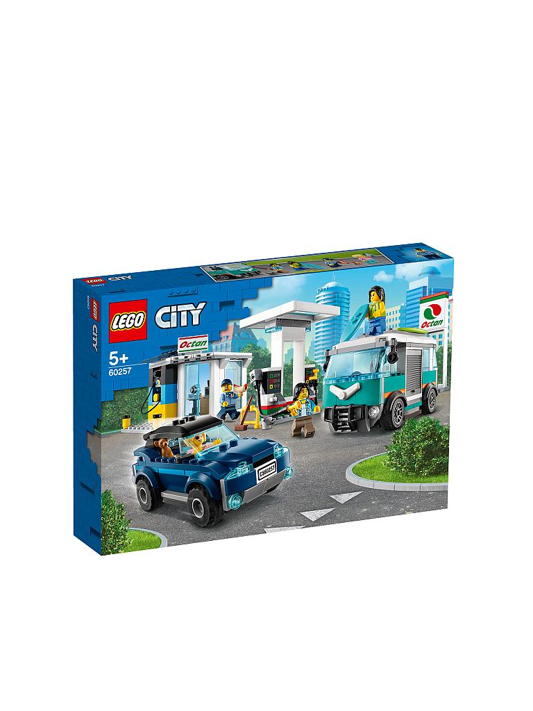 LEGO | City - Tankstelle 60257 | transparent