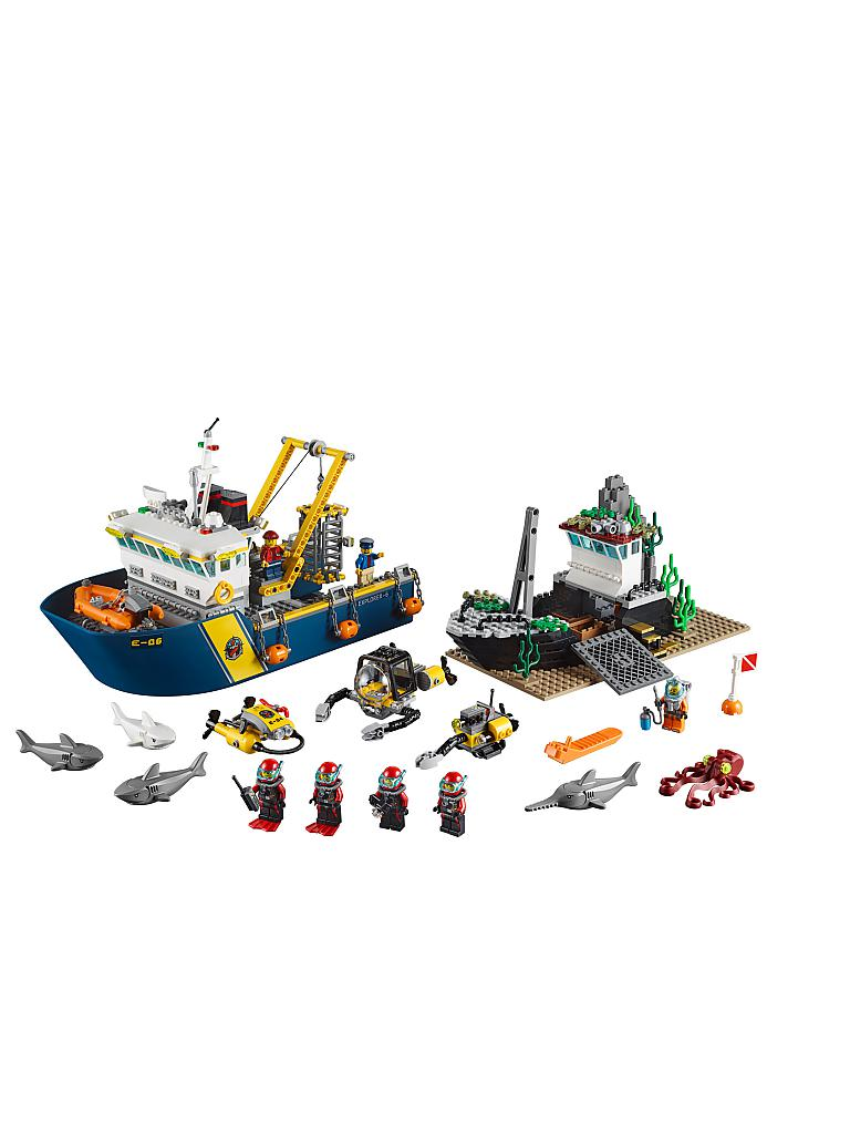 LEGO | CITY - Tiefsee Expeditionsschiff | transparent