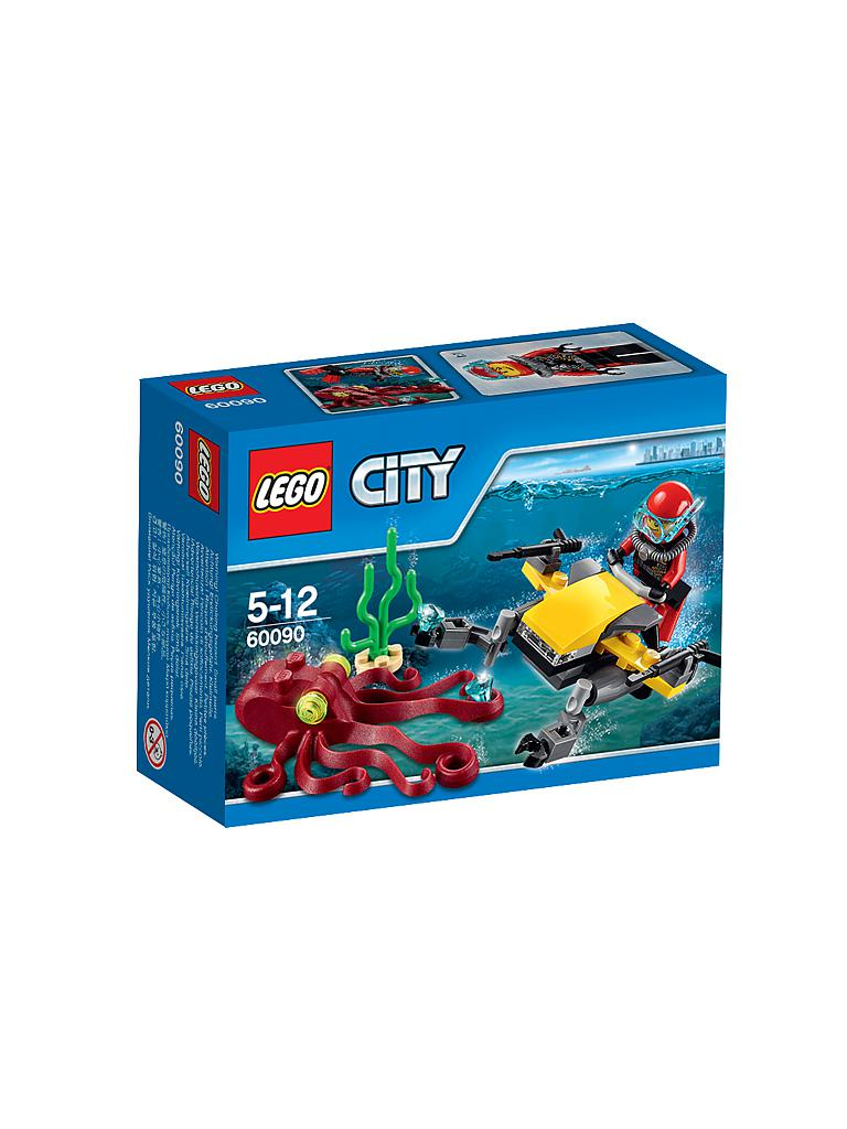 LEGO | CITY - Tiefsee Tauchscooter | transparent