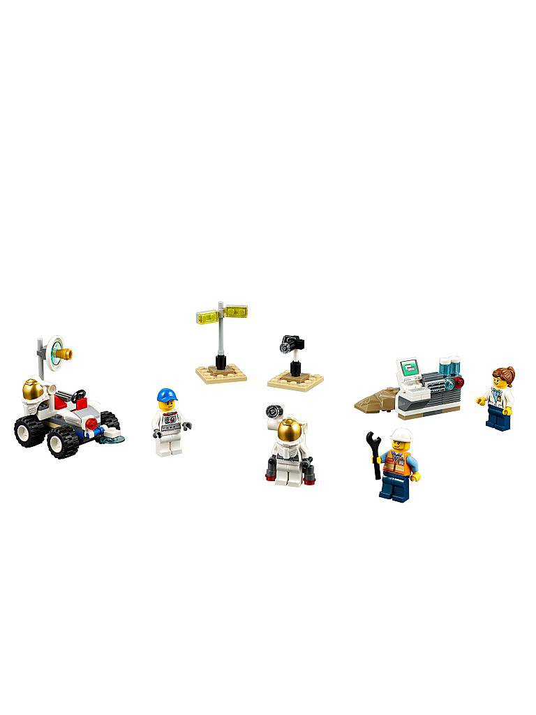 LEGO | CITY - Weltraum Starter-Set | transparent
